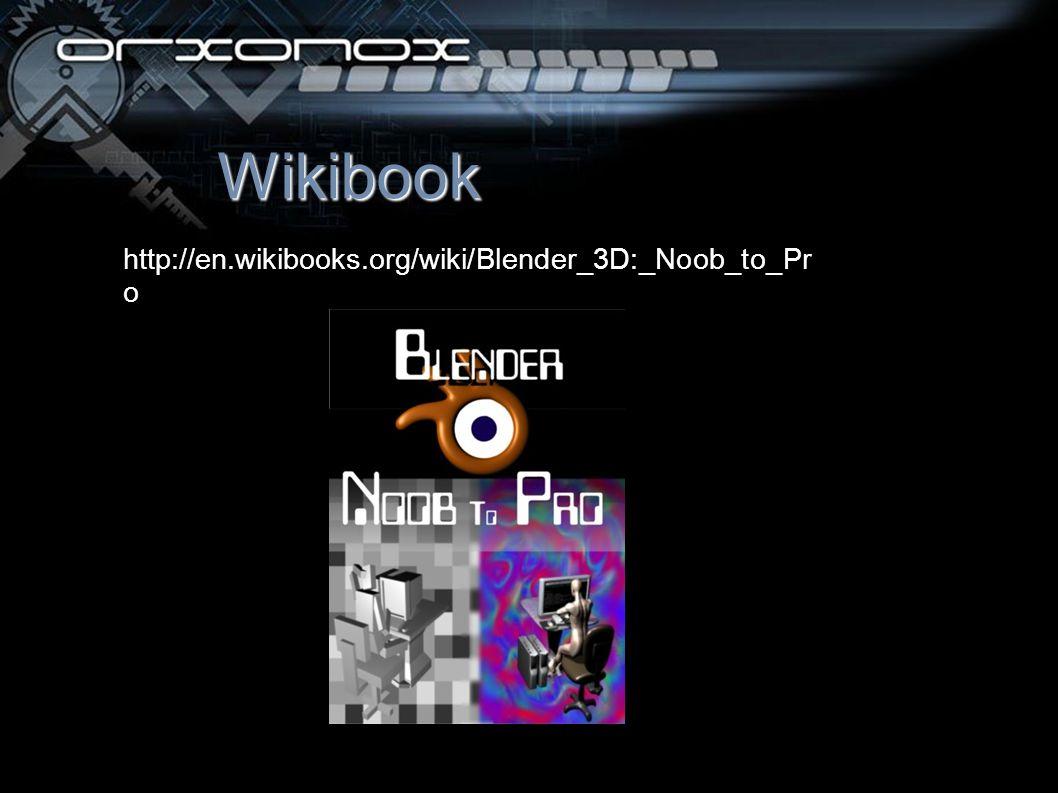 Wikibook http://en.wikibooks.org/wiki/Blender_3D:_Noob_to_Pr o