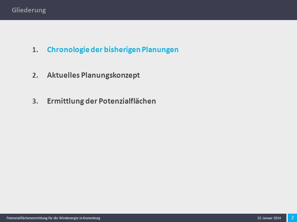 13 Potenzialflächenermittlung für die Windenergie in Kranenburg 23.