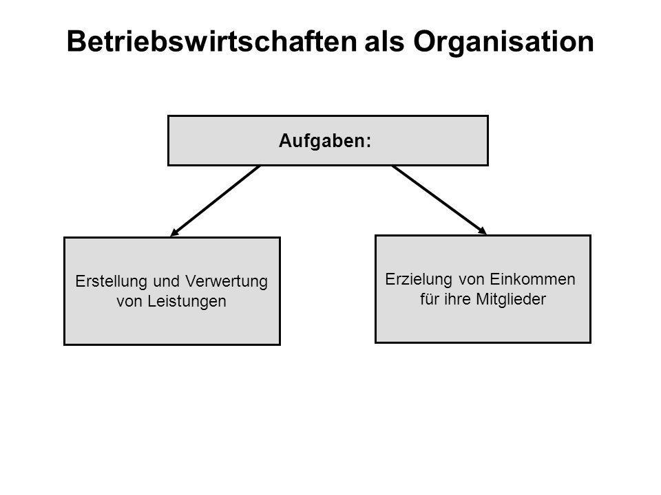 Organisation eines Unternehmens Organisation als Institution: Kieser/Kubicek `83 l weist eine formale Struktur auf, mit deren Hilfe Mitglieder auf das verfolgte Ziel ausgerichtet werden sollen l verfolgt dauerhaft ein Ziel l soziales Gebilde