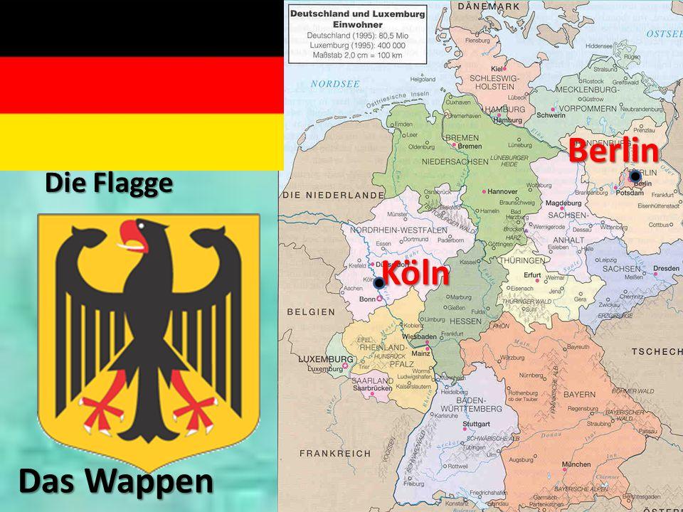 Berlin Köln Die Flagge Das Wappen