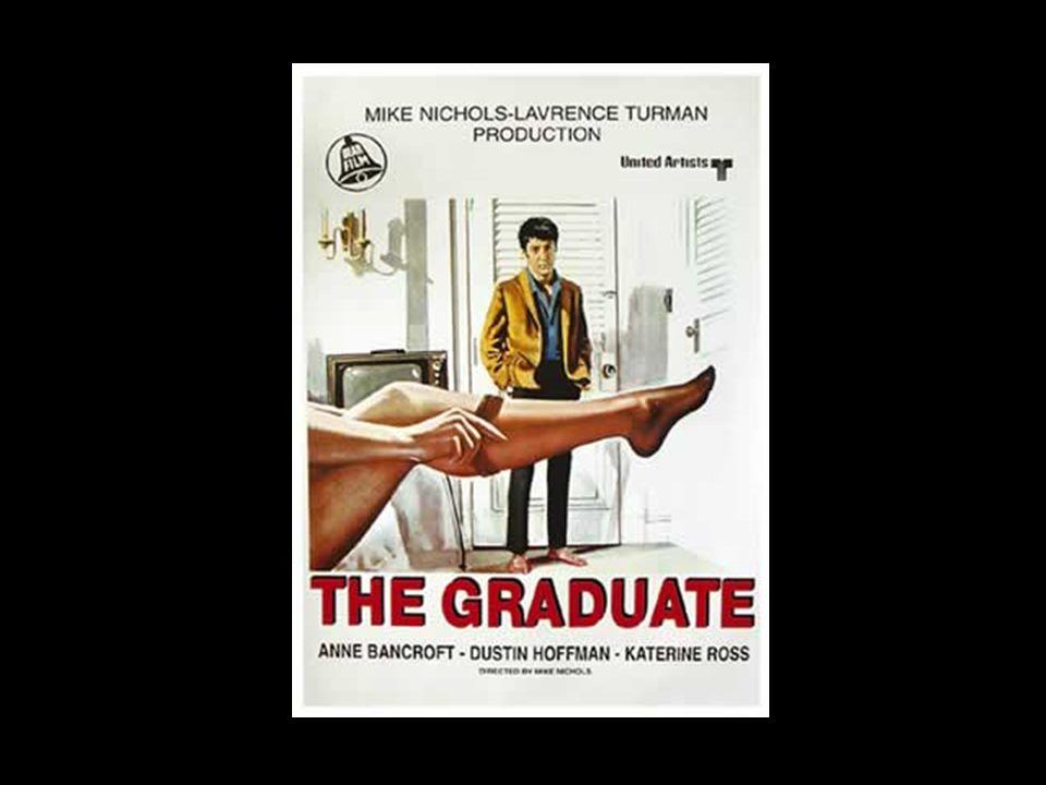 The Graduate (1967) Von unabhängiger Produktionsfirma Embassy Pictures Corporation 2.