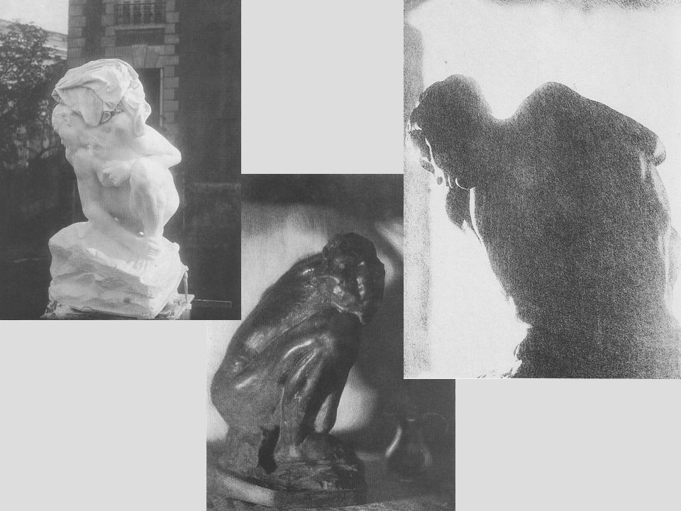 Begräbnis Rodins in Meudon am 24.11.1917 Pierre Choumoff - Auguste Rodin, 1916/17