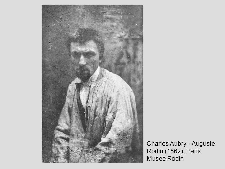 Charles Aubry - Auguste Rodin (1862); Paris, Musée Rodin