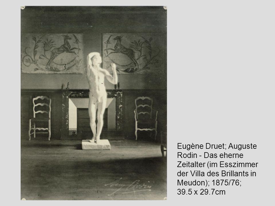 Garten in Meudon mit Jean d Aire; Paris, Musée Rodin Rodins Atelier in Meudon; Photographie; Paris, Musée Rodin