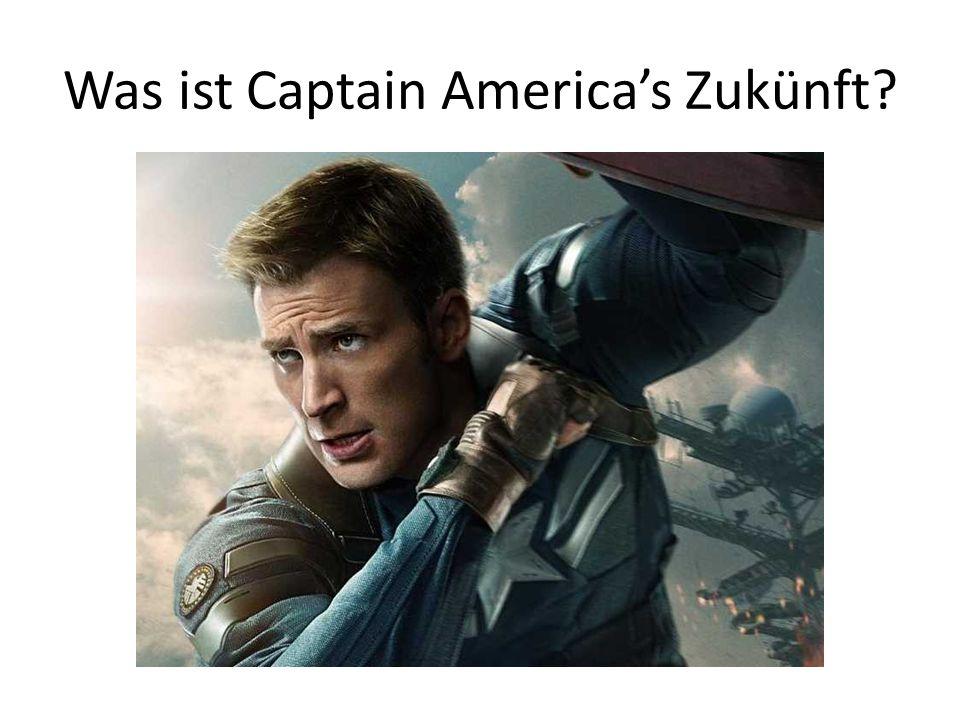 Was ist Captain America's Zukünft?