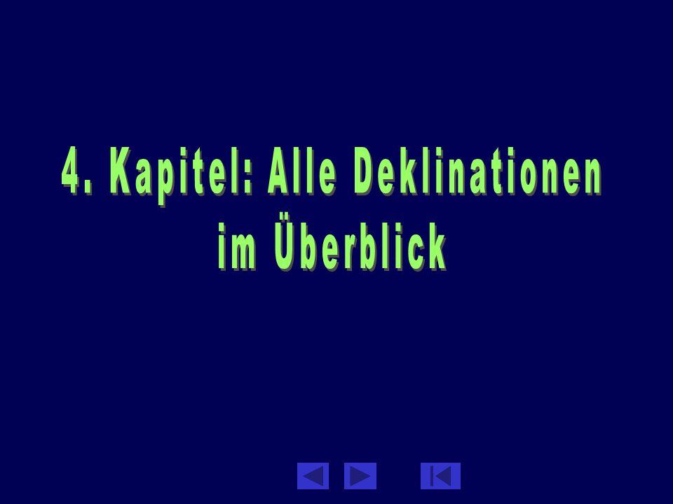 Loos: Grammatiktrainer2 Deklinationen-Überblick: Inhalt des Kapitels 1.