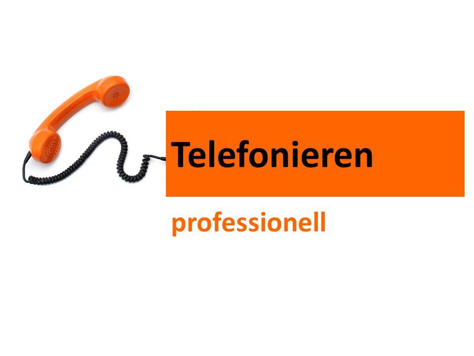 Telefonieren professionell