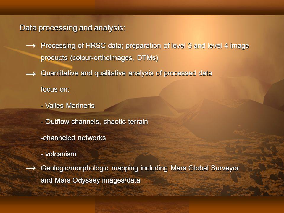 Fachbereich Geowissenschaften der Freien Universität Berlin Julia Lanz 12. Dezember 2003 Geologic/morphologic mapping including Mars Global Surveyor a