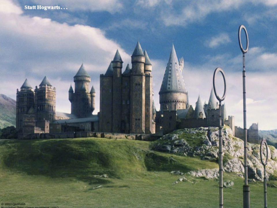 © 2009 Prof. Dr. Rainer Manthey Bachelorbegrüßung 12.10.2009 6 Statt Hogwarts... Statt Hogwarts...