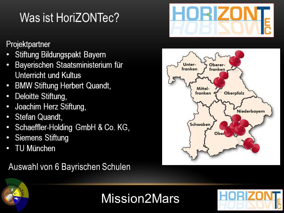 Mission2Mars Was will HoriZONTec.