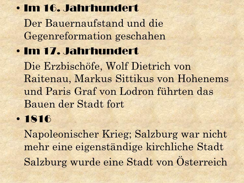 den 1.August 1917 Salzburger Festspielhausgemeinde wurde gegründet den 22.