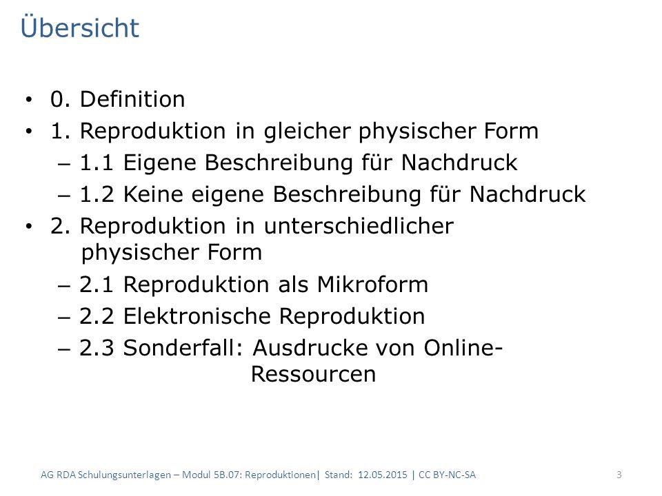 Vollständiges Beispiel / Elektronische Reproduktion (2) 24 RDAElementBeschreibung 1 (Original) Beschreibung 2 (Reproduktion) 3.3DatenträgertypBandOnline-Ressource 6.9InhaltstypText 6.11Sprache der Expression ** J.4.2Äquivalenz- beziehung auf Manifestations- ebene Elektronische Reproduktion Elektronische Reproduktion von 27.1.1.3In Beziehung stehende Manifestation Teutonia.