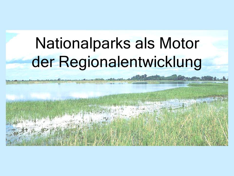 Nationalparks als Motor der Regionalentwicklung