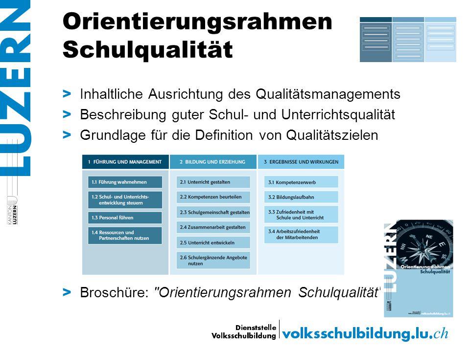 Orientierungsrahmen Schulqualität > Inhaltliche Ausrichtung des Qualitätsmanagements > Beschreibung guter Schul- und Unterrichtsqualität > Grundlage f