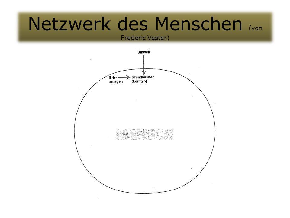 Netzwerk des Menschen (von Frederic Vester)
