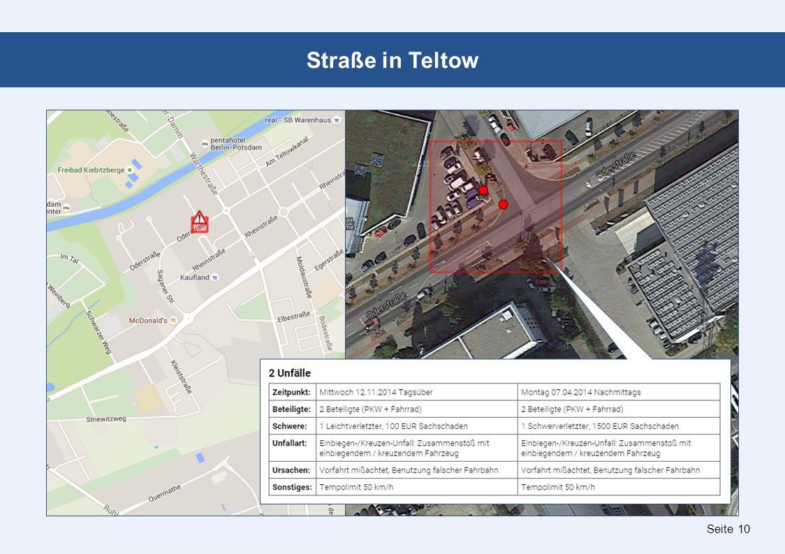 Seite 10 Straße in Teltow