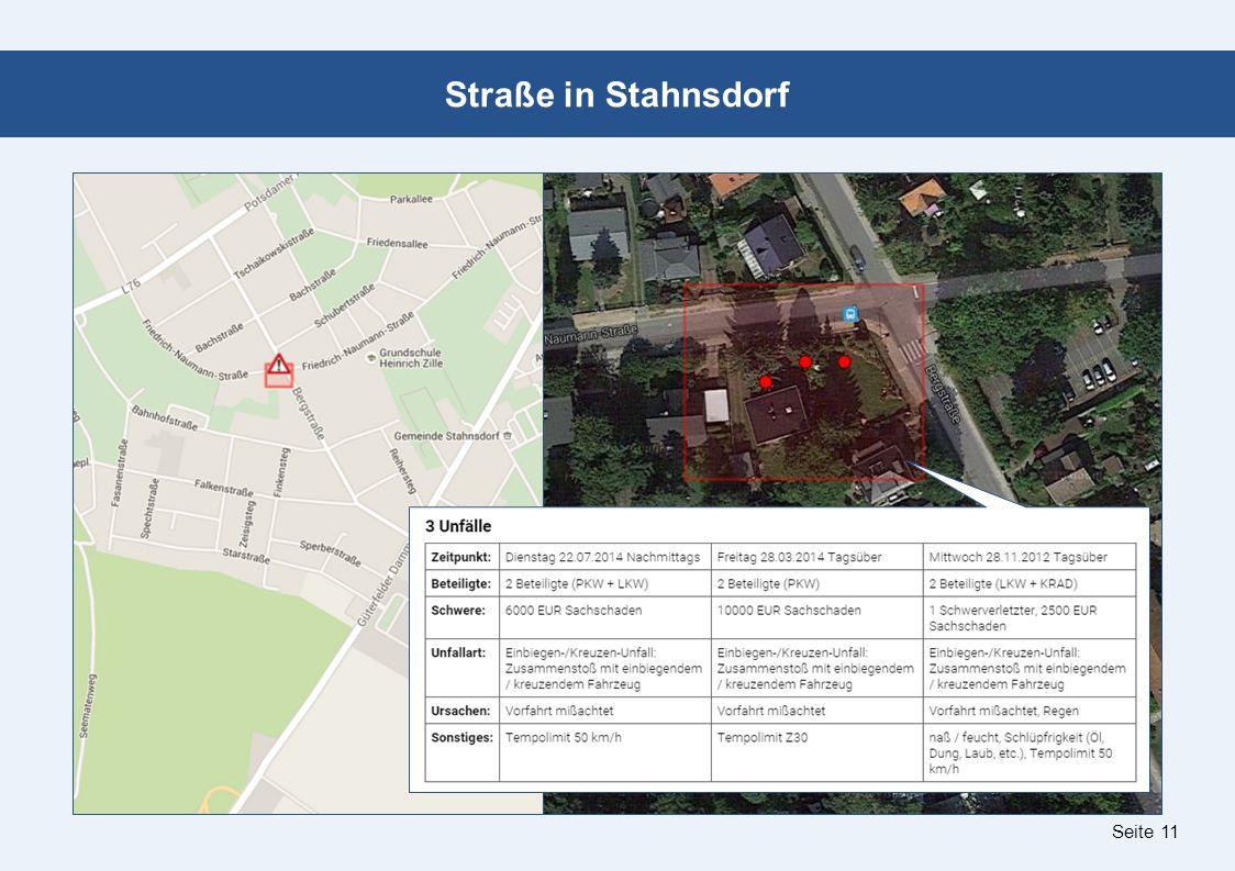 Seite 11 Straße in Stahnsdorf