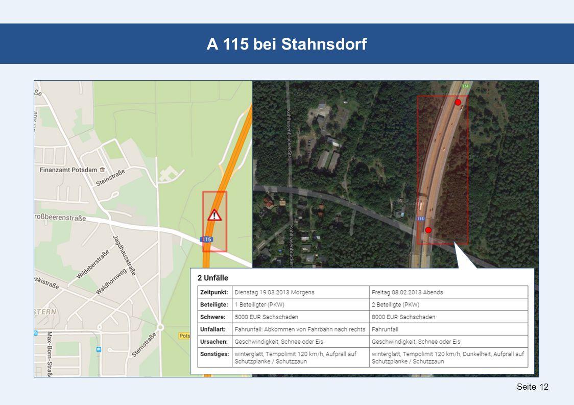 Seite 12 A 115 bei Stahnsdorf