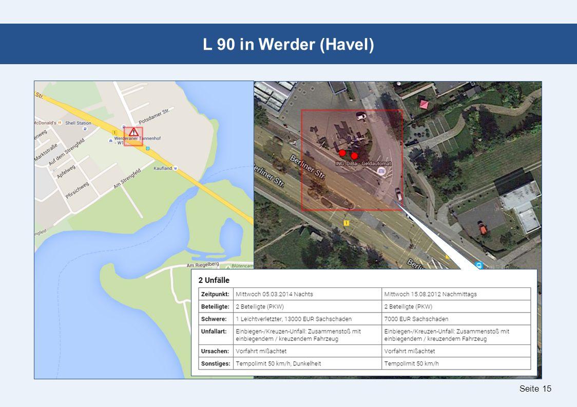 Seite 15 L 90 in Werder (Havel)