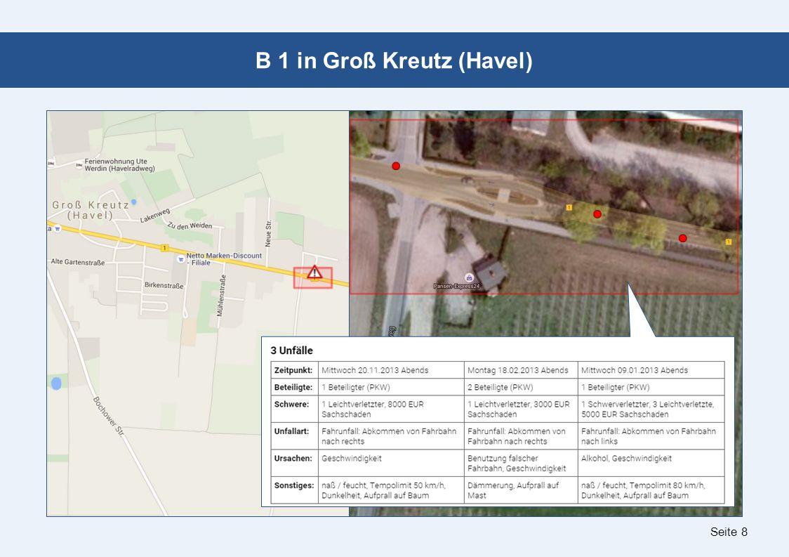Seite 8 B 1 in Groß Kreutz (Havel)