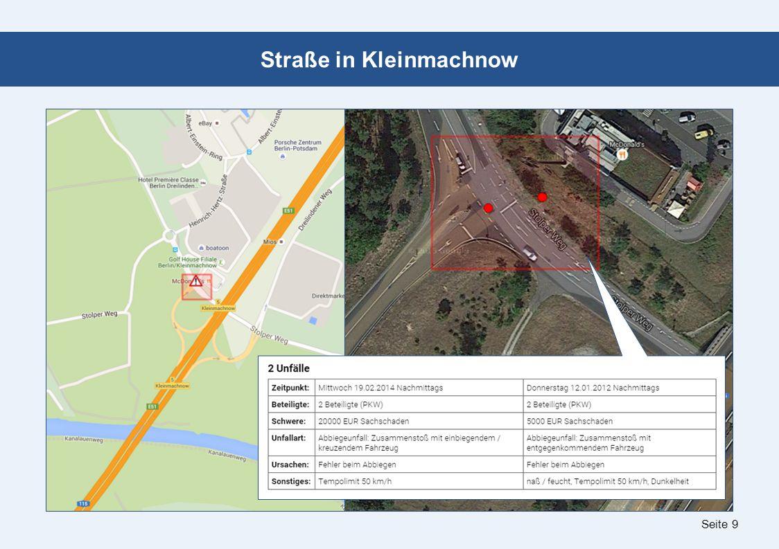 Seite 9 Straße in Kleinmachnow