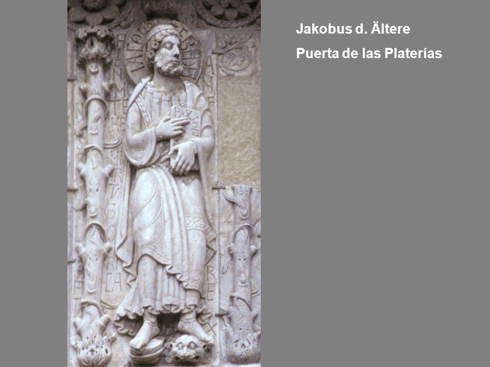 Jakobus d. Ältere Puerta de las Platerías