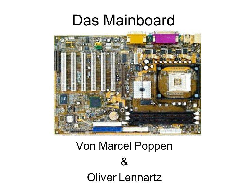 Das Mainboard Von Marcel Poppen & Oliver Lennartz