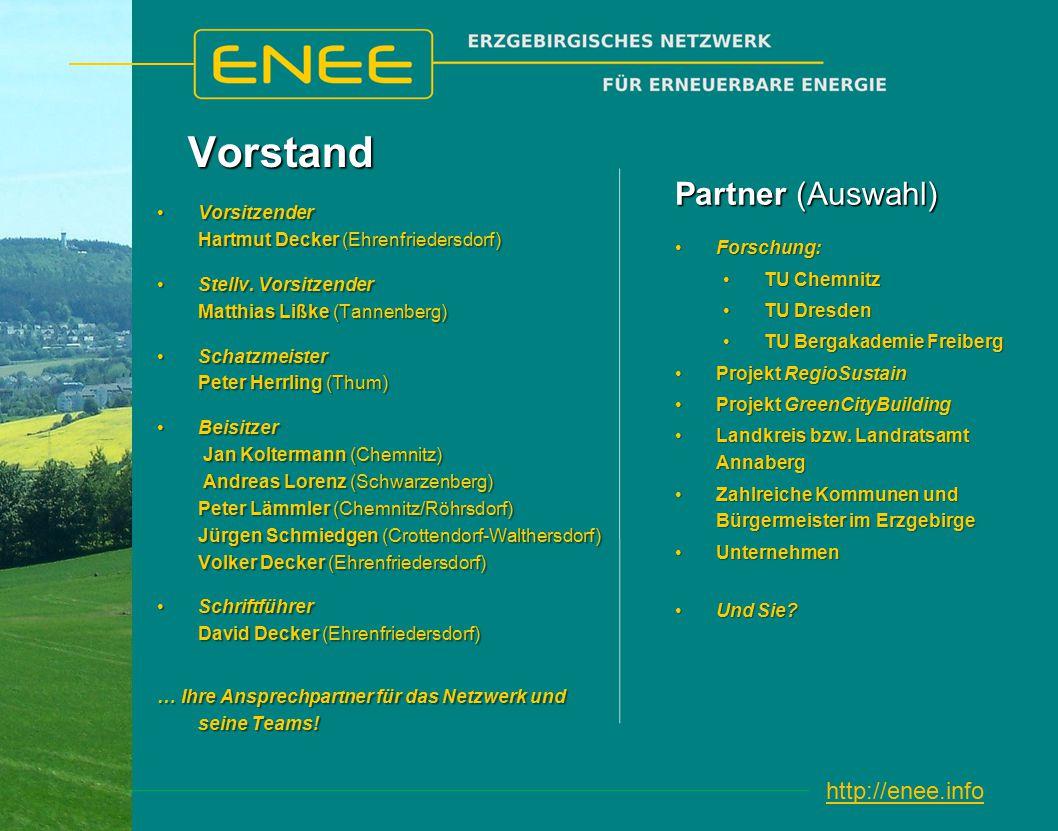 http://enee.infoVorstand Vorsitzender Hartmut Decker (Ehrenfriedersdorf)Vorsitzender Hartmut Decker (Ehrenfriedersdorf) Stellv.