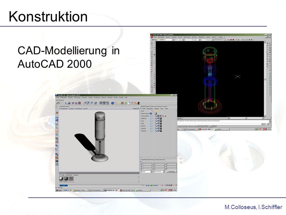 M.Colloseus, I.Schiffler Konstruktion CAD-Modellierung in AutoCAD 2000