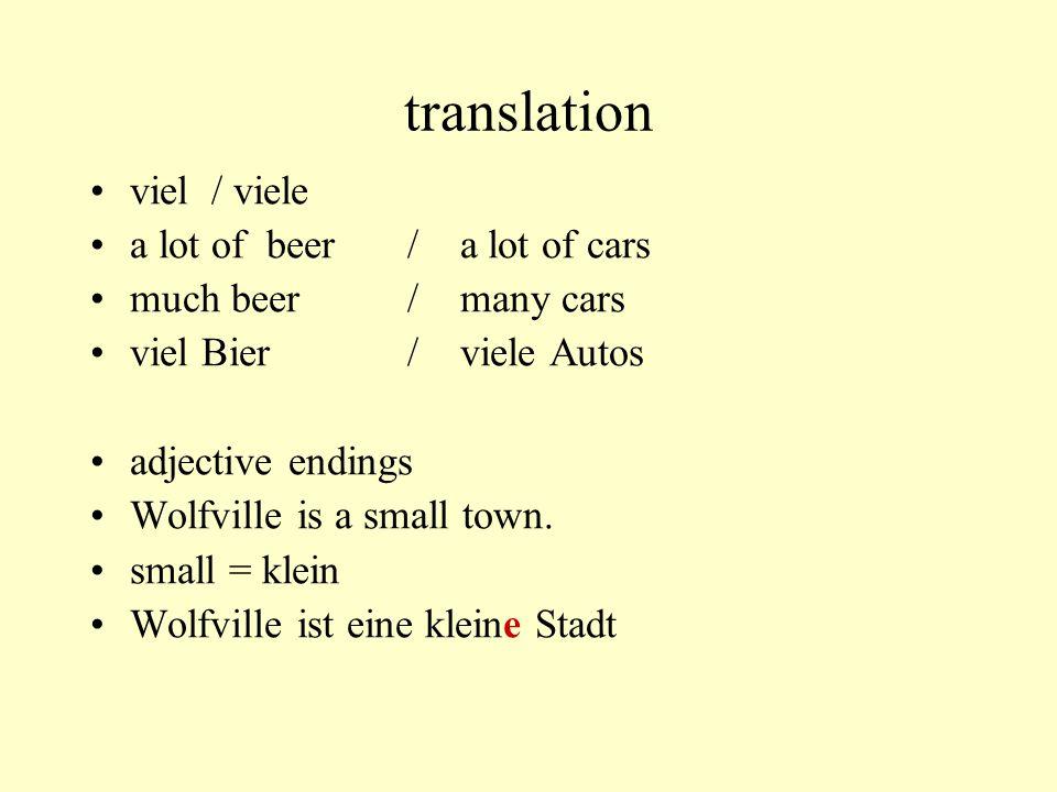 translation go to gehen [fahren / fliegen] nach –towns, cities, countries, continents –Ich fliege nach Europa.
