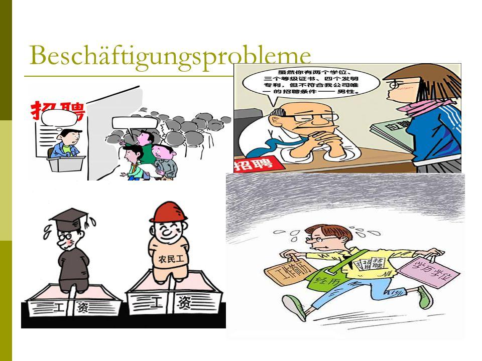 Beschäftigungsprobleme