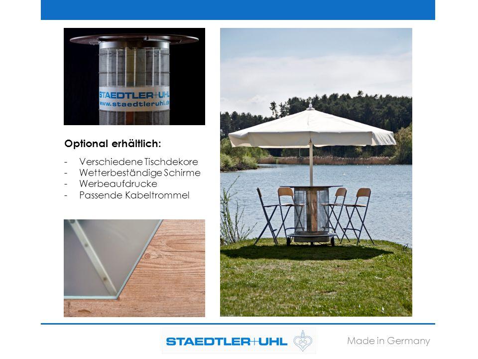 STAEDTLER + UHL KG Nördliche Ringstraße 12 91126 Schwabach Tel.: 09122 186-0 Fax: 09122 186-28 bistro@staedtleruhl.com www.staedtleruhl.de Made in Germany