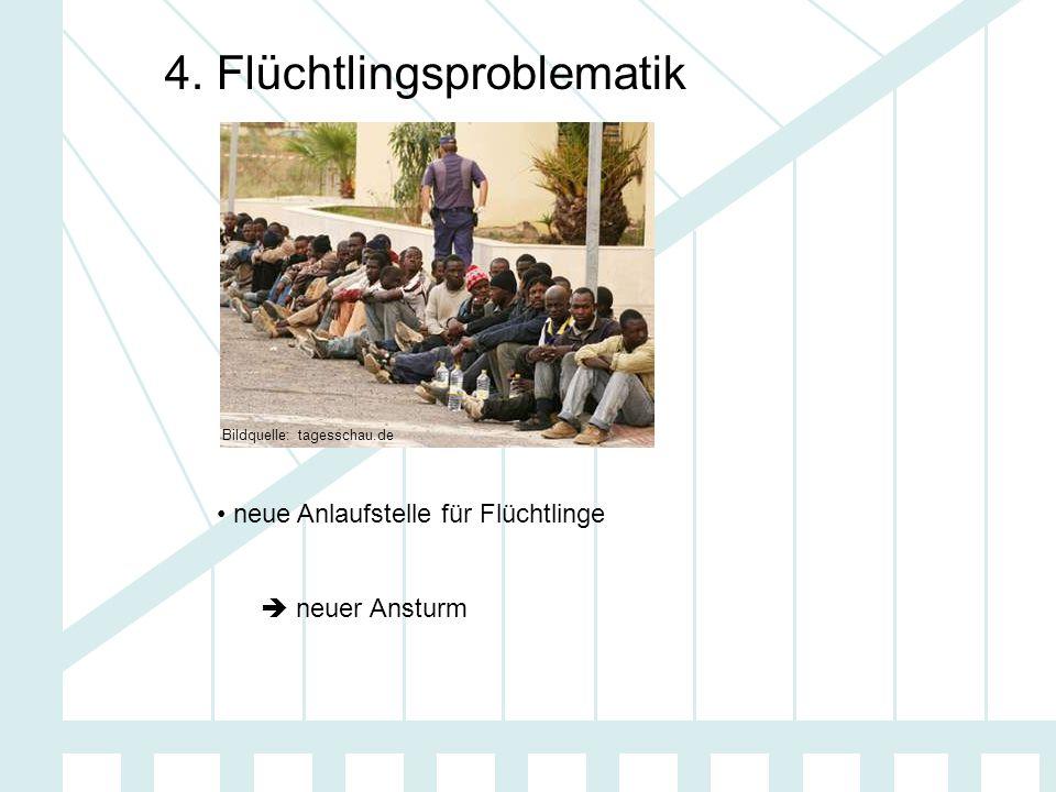4. Flüchtlingsproblematik neue Anlaufstelle für Flüchtlinge  neuer Ansturm Bildquelle: tagesschau.de