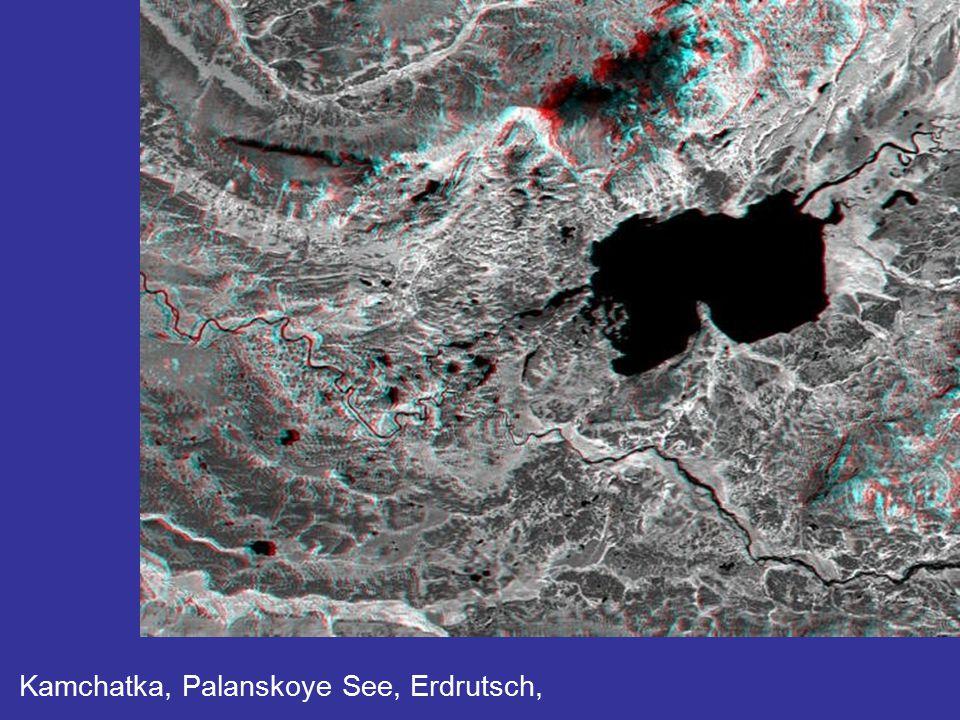 Radar maps of the Amazon Basin reveal the seasonally flooded forest.