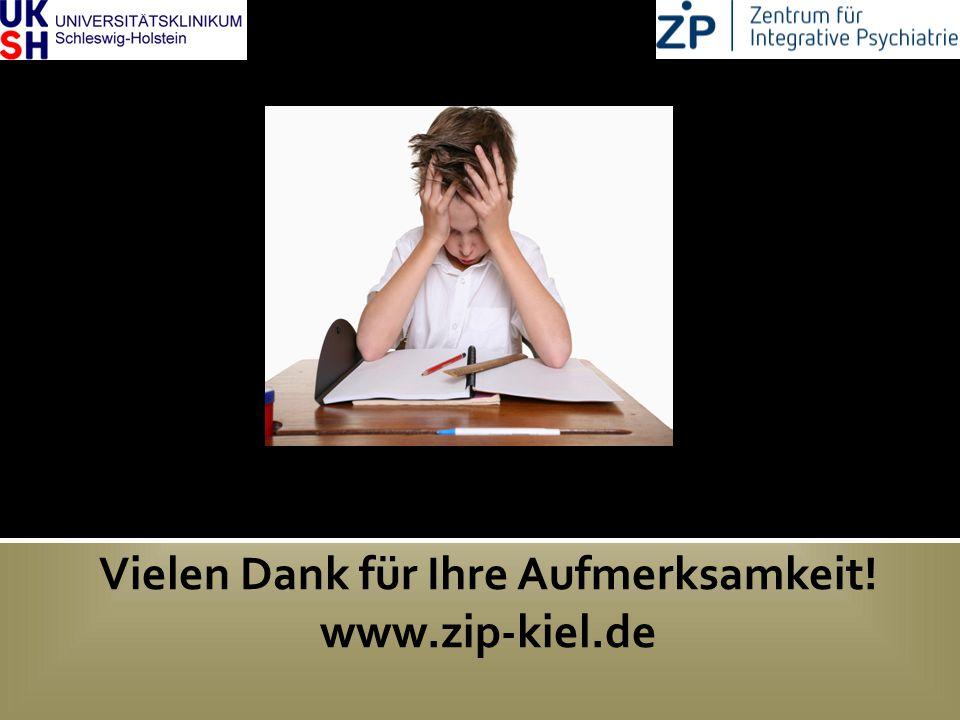 DGKJP Kongress 2013, Rostock Vielen Dank für Ihre Aufmerksamkeit! www.zip-kiel.de