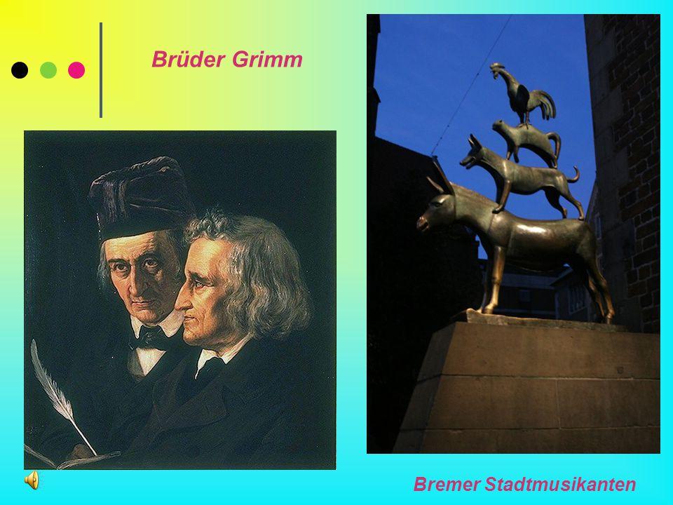 Brüder Grimm Bremer Stadtmusikanten