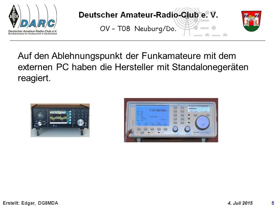 OV – T08 Neuburg/Do.Erstellt: Edgar, DG8MDA 8 4.