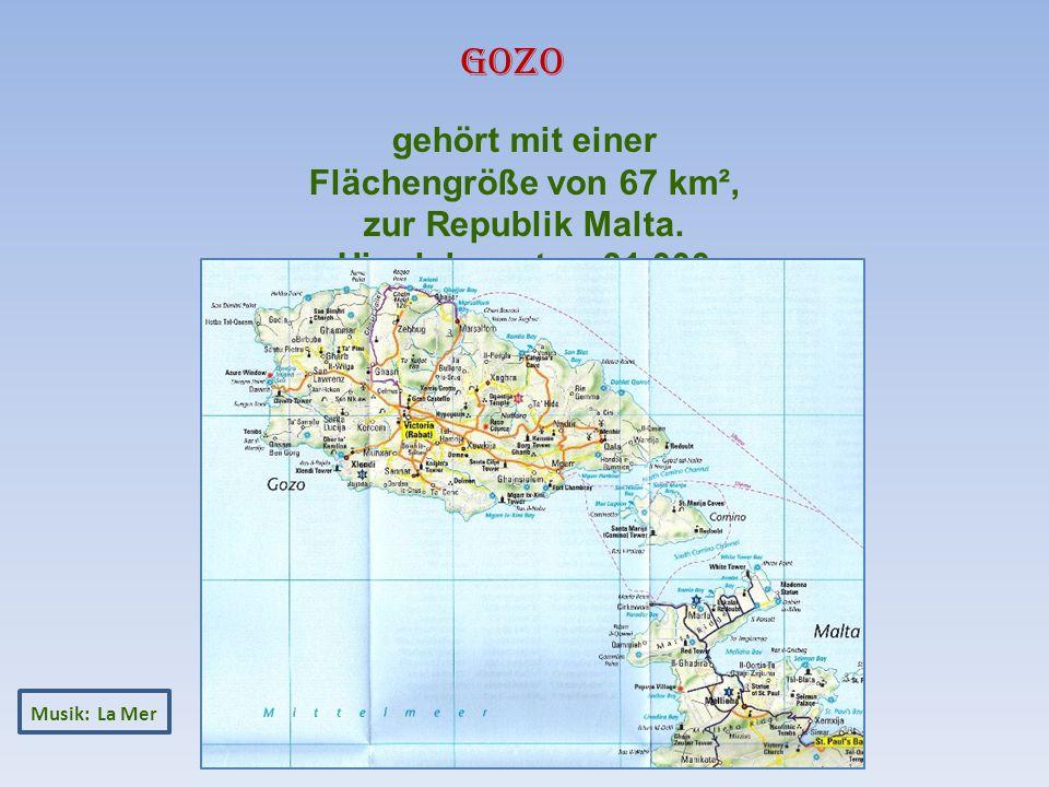 Musik: La Mer gehört mit einer Flächengröße von 67 km², zur Republik Malta.