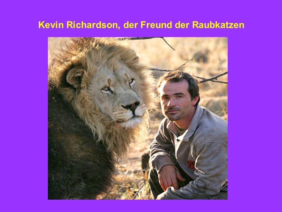 Kevin Richardson, der Freund der Raubkatzen