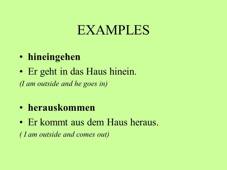 examples (ihr) Kommt herein.Würdet ihr bitte hereinkommen.