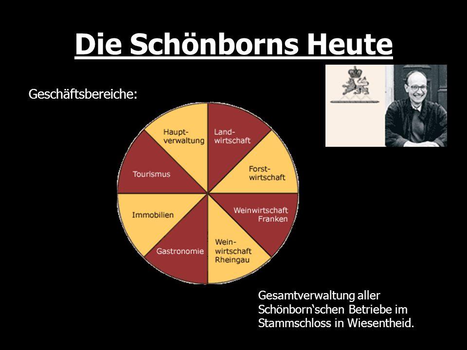 Quellen: www.pommersfelden.de www.schoenborn.de
