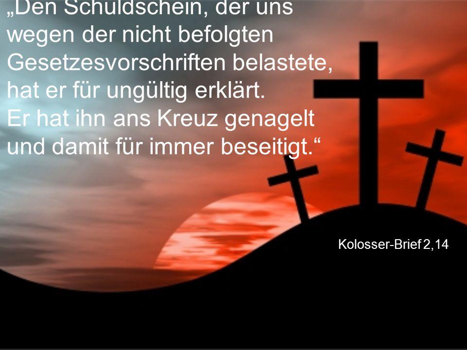 """Jesaja 53,5 """"Die Strafe für unsere Schuld traf ihn, und wir sind gerettet."""