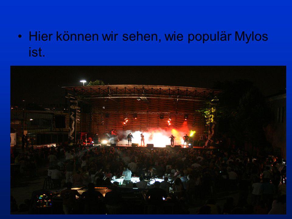 Hier können wir sehen, wie populär Mylos ist.
