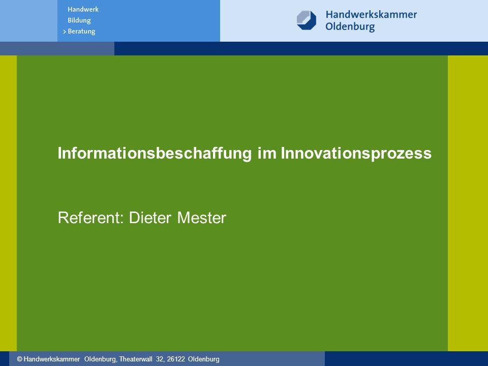"""© Handwerkskammer Oldenburg, Theaterwall 32, 26122 Oldenburg Beratungsanfrage Hallo Herr Mester, wir wollen uns im Marktsegment """"Abfallkühlungen neu aufstellen."""