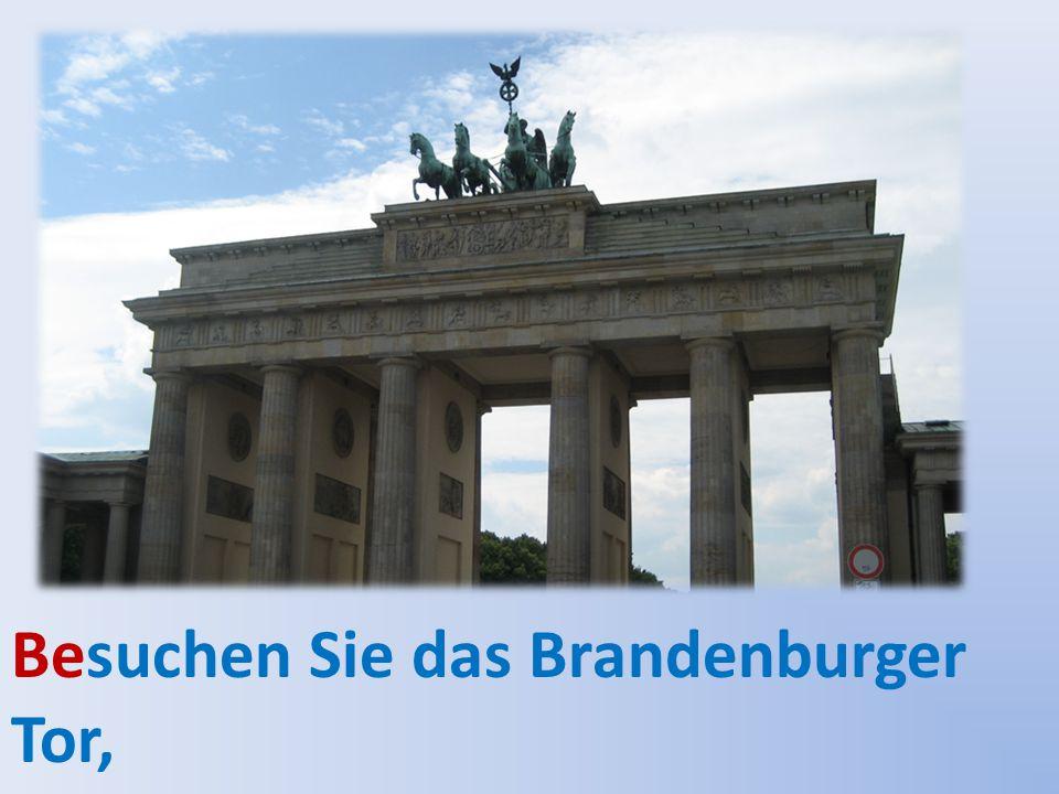 genießen Sie die Berliner Luft