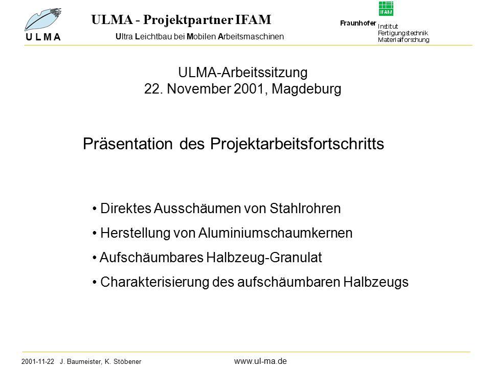 Ultra Leichtbau bei Mobilen Arbeitsmaschinen 2001-11-22 J.