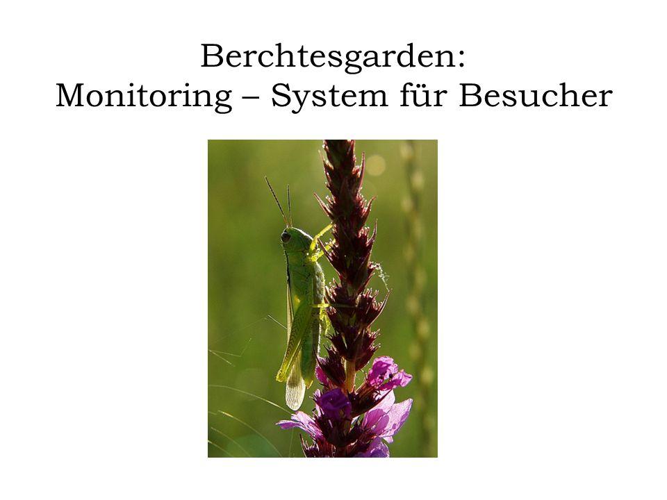 Berchtesgarden: Monitoring – System für Besucher