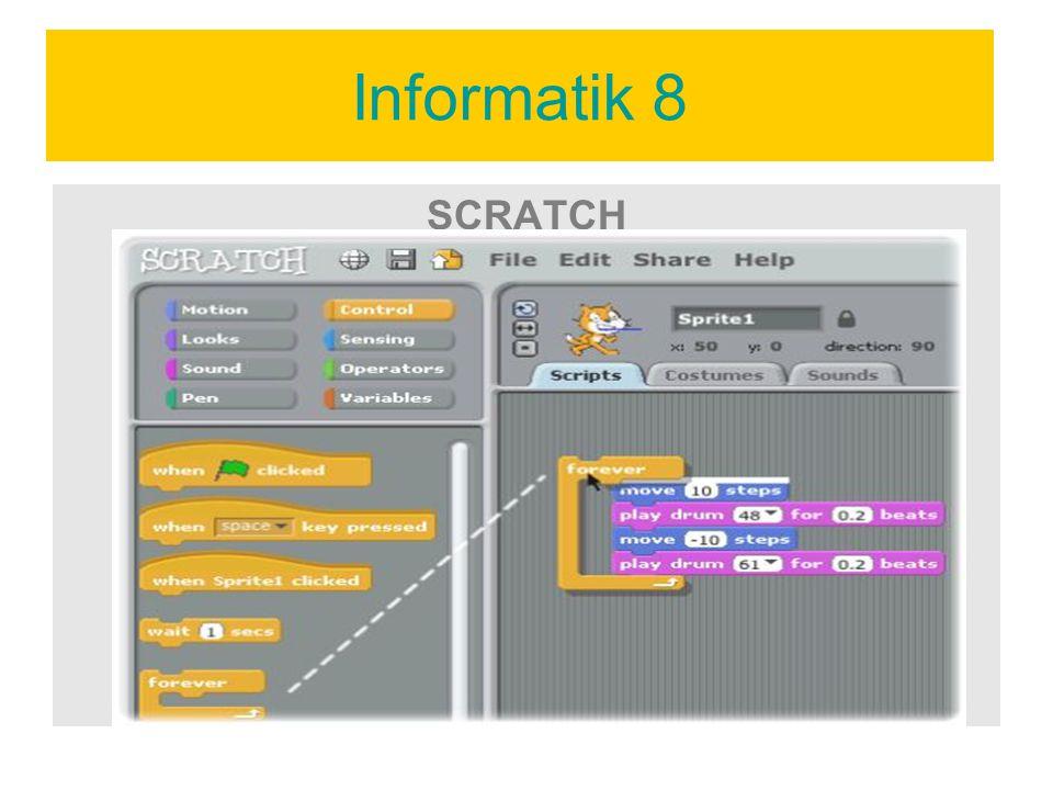 Informatik 8 SCRATCH