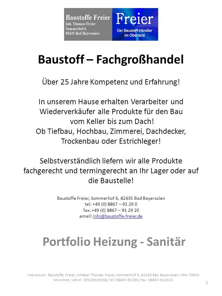 Baustoff – Fachgroßhandel Über 25 Jahre Kompetenz und Erfahrung.