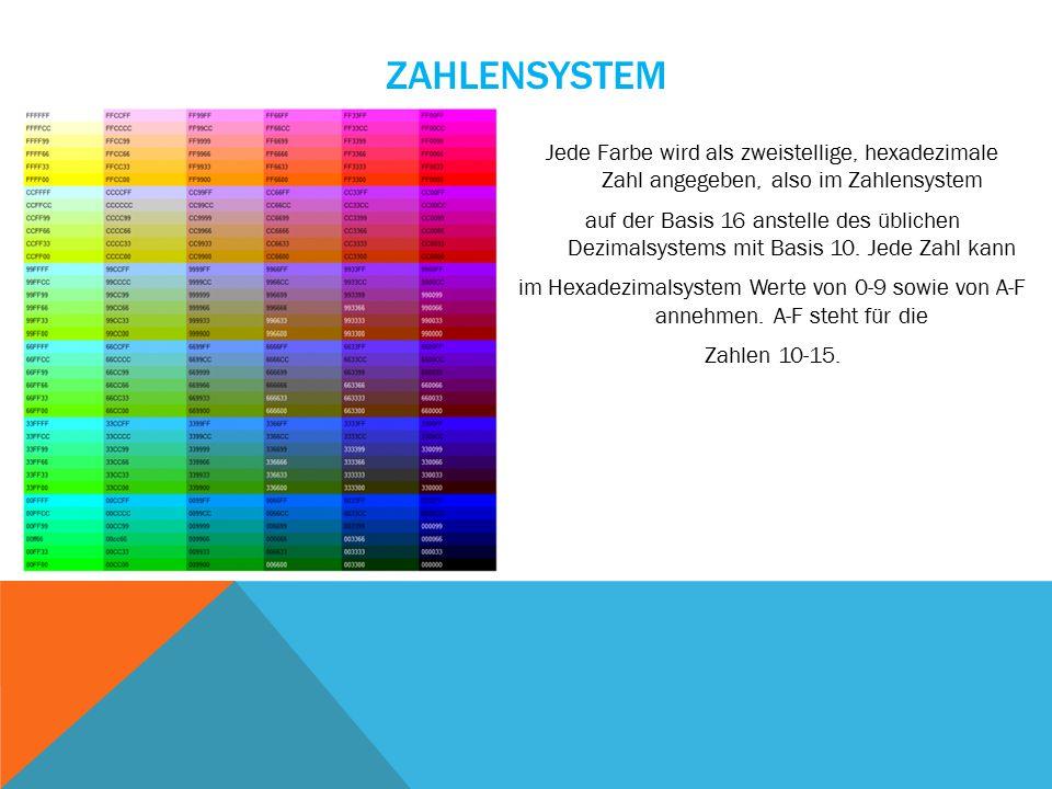 WEITERE CSS-FUNKTION FÜR FARBEN Es gibt noch eine weitere CSS-Funktion für Farben: hsl ().